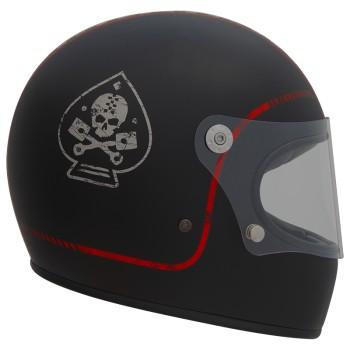 Casque moto PREMIER intégral TROPHY FL9BM NOIR MAT