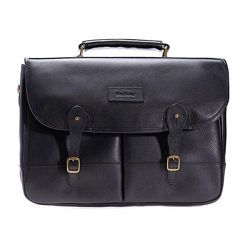 sacoche moto barbour leather briefcase bag vintage motors. Black Bedroom Furniture Sets. Home Design Ideas