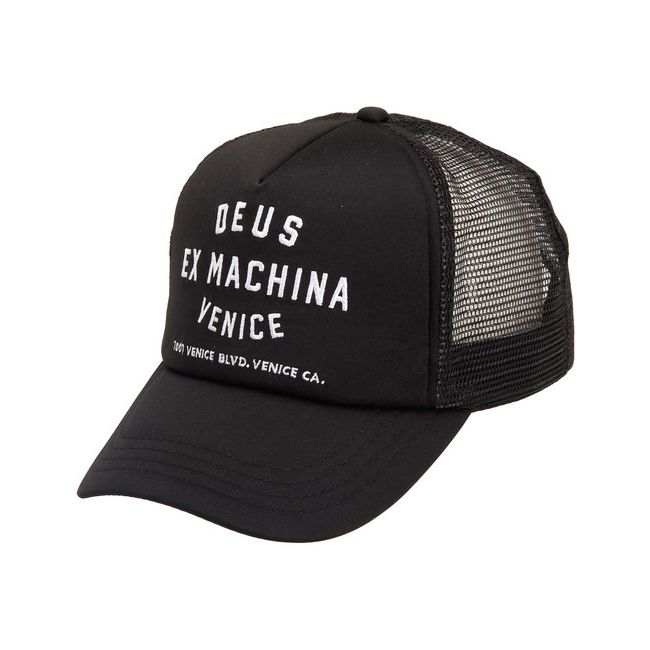 casquette deus ex machina venice address trucker. Black Bedroom Furniture Sets. Home Design Ideas
