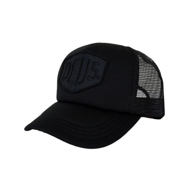 Casquette Deus Ex Machina BAYLANDS TRUCKER NOIR