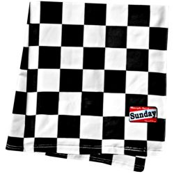 Domingo speedshop CHEQUERED BUFANDA