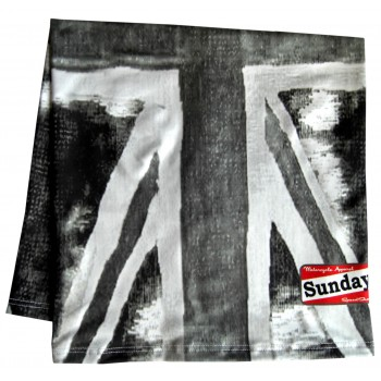SCARF SUNDAY SPEEDSHOP UNION BLACK