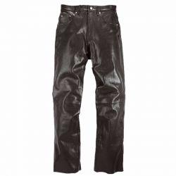 Pantalones de cuero Helstons CORDEN Trapo Negro