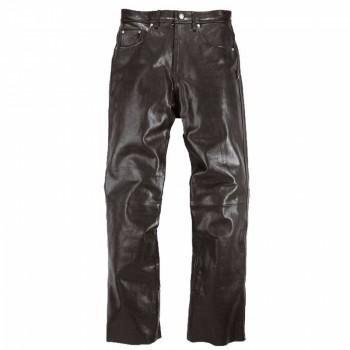 Pantalon Helstons CORDEN Cuir Rag Noir