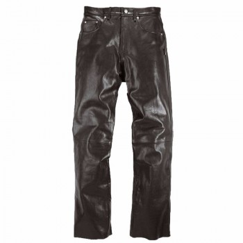 Leather Pants Helstons CORDEN Rag Black