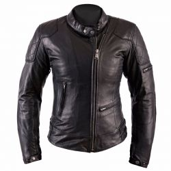 Helstons KS Leather Jacket 70 Black Rag