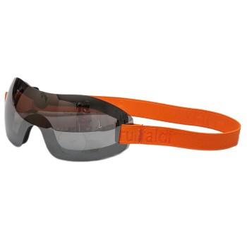 Lunettes moto Baruffaldi Matyz hydrophobique et bandeau élastique orange