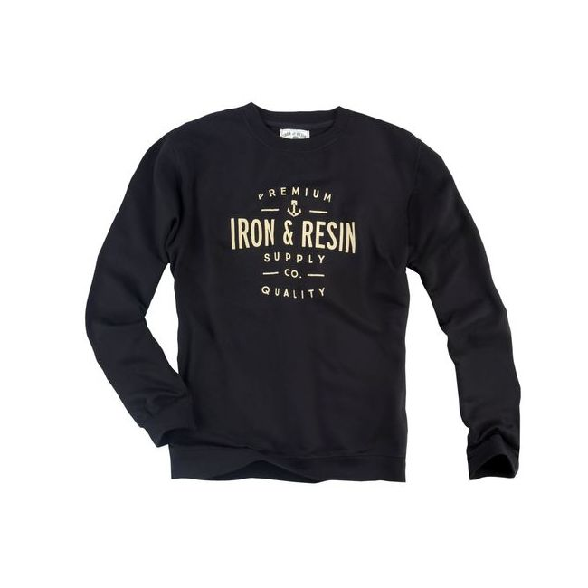 Sweat moto Iron and Resin CREWNECK PORTSMITH