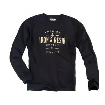 El sudor de hierro y resina CREWNECK Portsmith