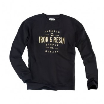 Sweat Iron and Resin CREWNECK PORTSMITH