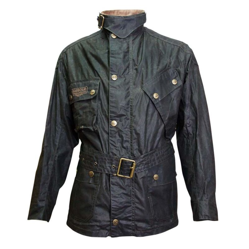 blouson homme moto barbour minerva triumph vintage motors. Black Bedroom Furniture Sets. Home Design Ideas