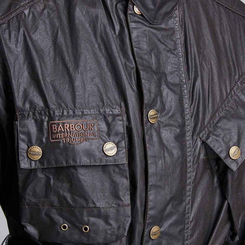 Moto Moto Blouson Vintage Barbour Barbour Barbour Minerva Triumph vdHqHrA