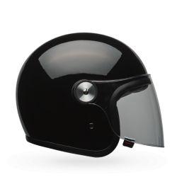 Vintage motorcycle helmet BELL RIOT Black