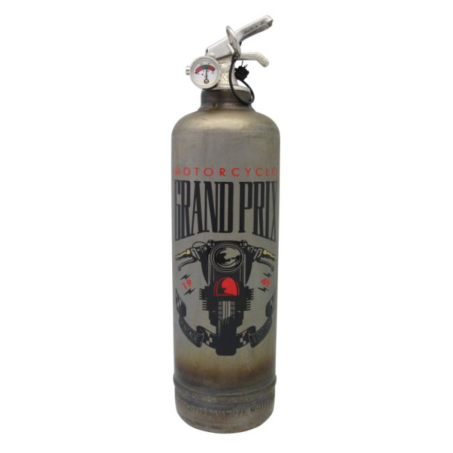Extincteur vintage FIRE DESIGN MGP GRAND PRIX BRUT