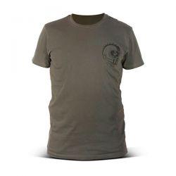 CAMISA DMD sin escrúpulos verde militar
