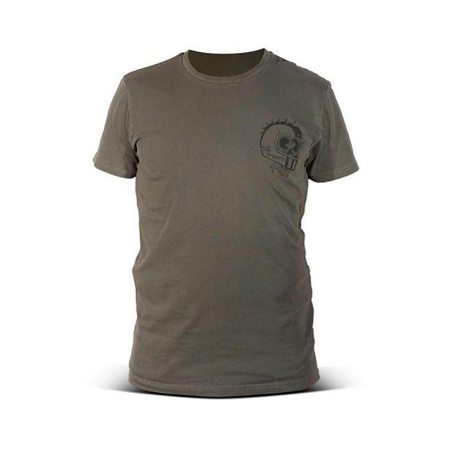 T shirt moto DMD Unscrupulous Military Green