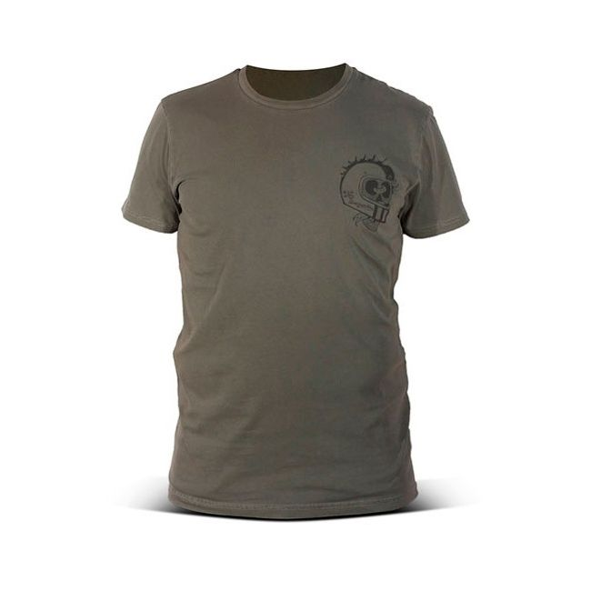 T shirt moto DMD Unscrupulous Military Green