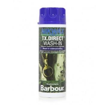 Manutenção WP gordura Nikwax WASH IN Barbour