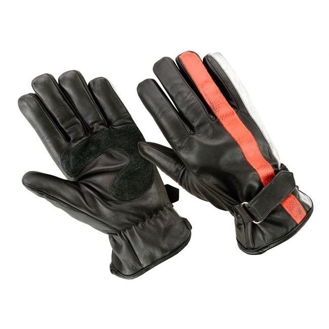 Handschuhe ORIGINAL DRIVER Nation Schwarz Orange Weiß