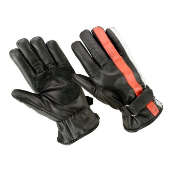 Handschuhe ORIGINAL DRIVER Nation Schwarz Orange Weiß
