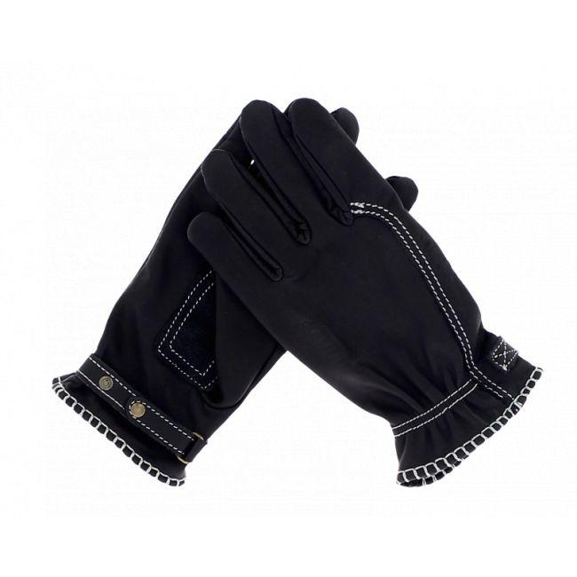 Gants cuir Kytone Gloves CE Noir