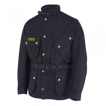 VESTE Moto Vintage Barbour International Bike