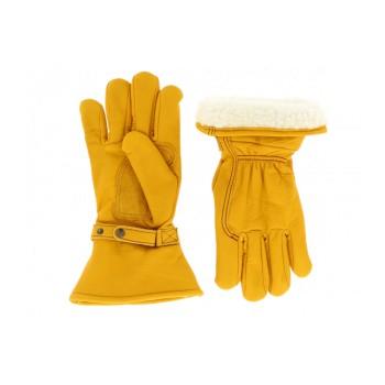 Kytone Doublés - Gants cuir Kytone doublés Beige CE