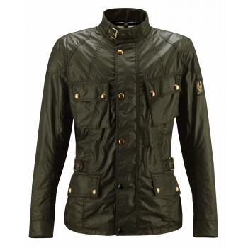 Jacket BELSTAFF CROSBY WAX6oz British Racing Verde