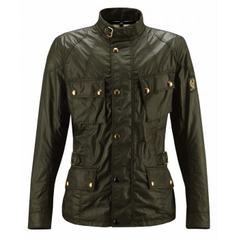 Veste BELSTAFF CROSBY WAX6oz BRITISH RACING Green