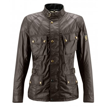 Jacket BELSTAFF CROSBY WAX6oz MAHOGANY