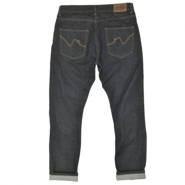 Pantalon moto vintage Ride And Sons Roadie denim rinsed