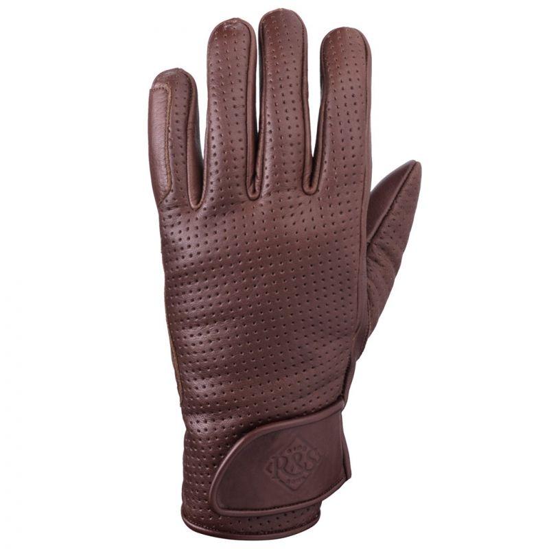 gants moto vintage ride and sons daytona gloves vented ce marron. Black Bedroom Furniture Sets. Home Design Ideas