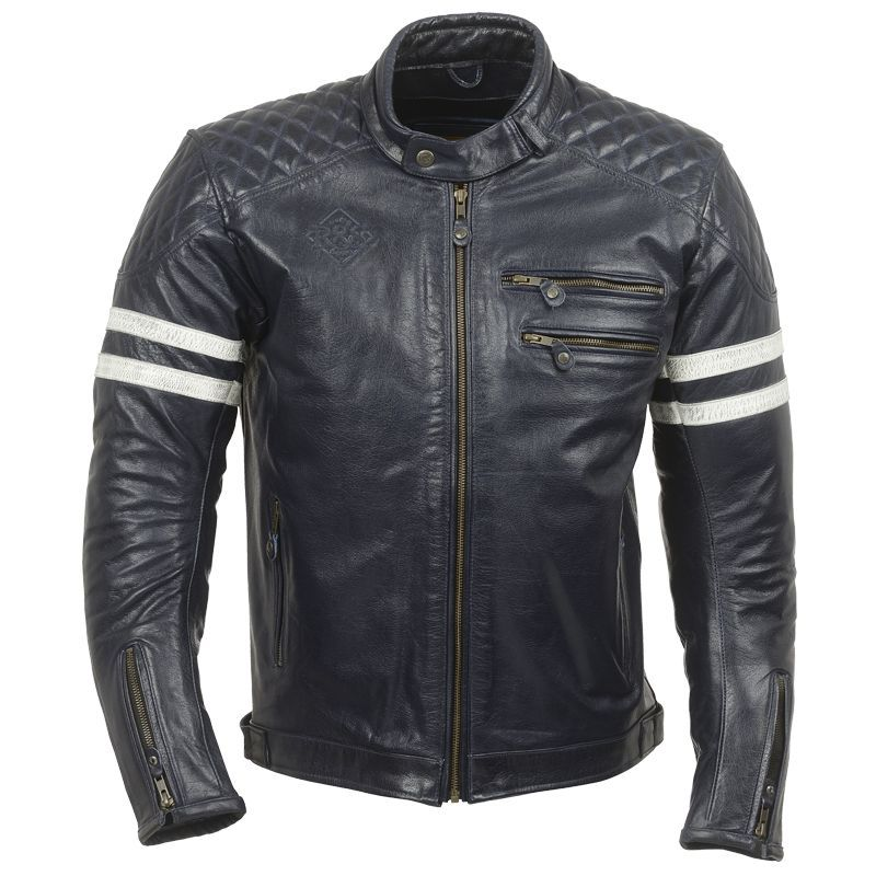 blouson moto vintage ride and sons magnificient cuir. Black Bedroom Furniture Sets. Home Design Ideas
