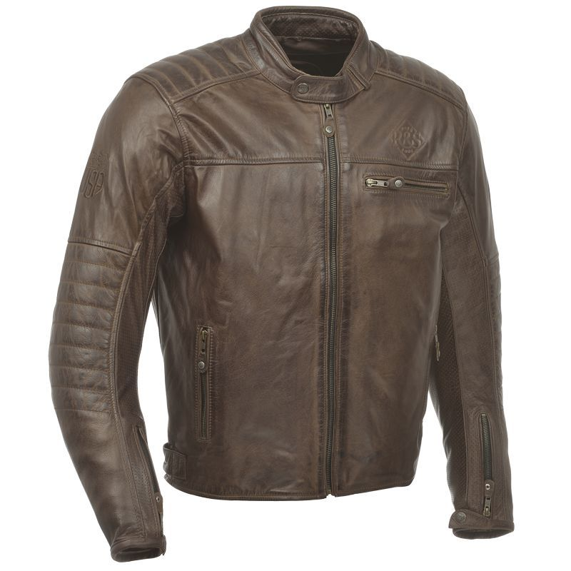 blouson moto vintage ride and sons getaway cuir tobacco. Black Bedroom Furniture Sets. Home Design Ideas