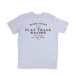T-Shirt Fahrt And Sons Flat Track T-Shirt grau