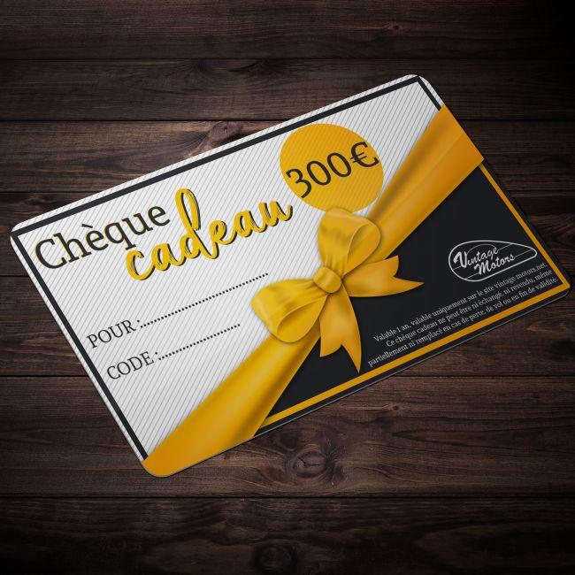 Chèque cadeau vintage-Motors 300€
