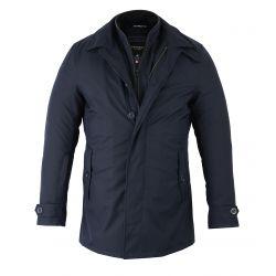 TRENCH chaqueta azul VSTREET