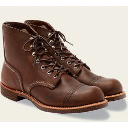 8111 Red Wing Iron Ranger Brown escuro Shoes