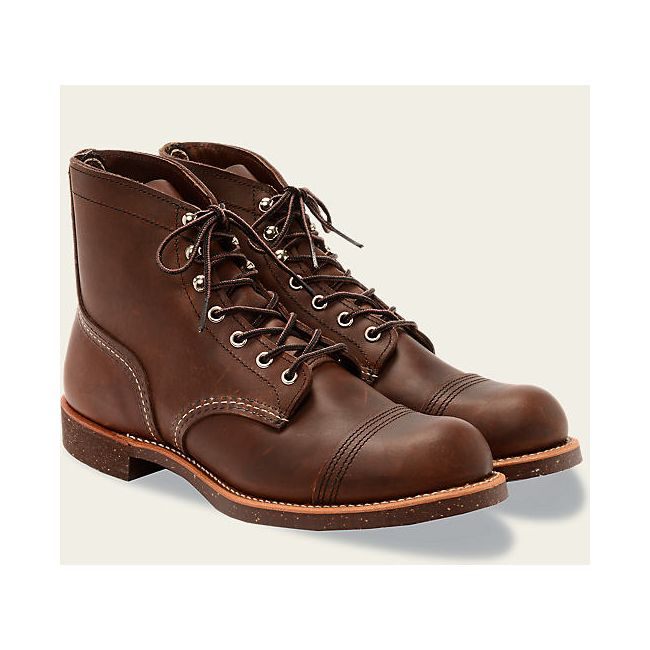 Chaussures Red Wing 8111 Iron Ranger Marron foncé