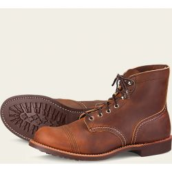8085 Red Wing Iron Ranger Aged Brown Shoes