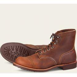 8085 zapatos marrones Red Wing Iron Ranger envejecidos