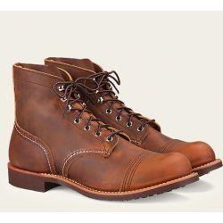 Chaussures Red Wing 8085 Iron Ranger Marron Vieilli