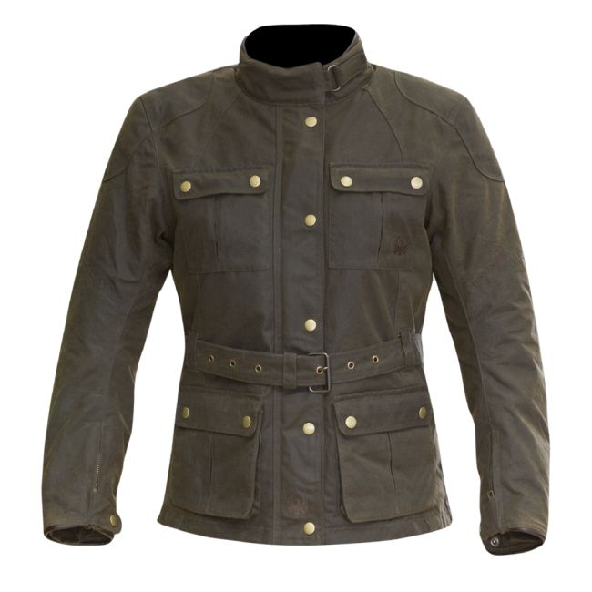 VESTE TEXTILE VINTAGE MERLIN ASHLEY WAX JACKET FEMME