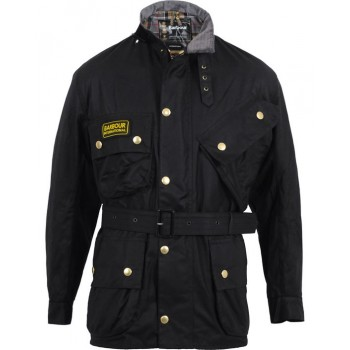 Blouson Moto Homme Vintage INTERNATIONAL ORIGINAL - BARBOUR