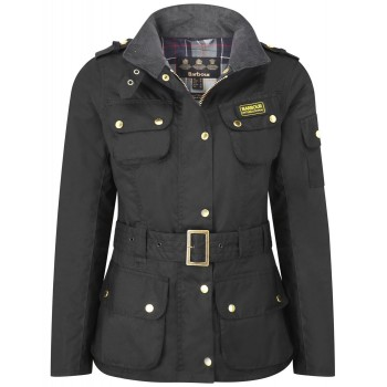 Blouson Moto Femme Vintage LADIES INTERNATIONAL- BARBOUR