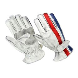 Gants ORIGINAL DRIVER - Nation Blanc Bleu Rouge