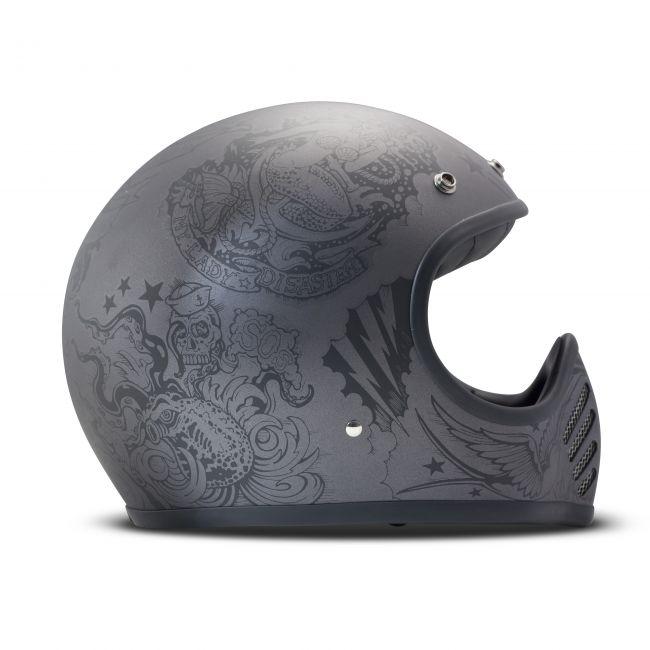 casque moto vintage dmd integral seventy five 75 sailor. Black Bedroom Furniture Sets. Home Design Ideas