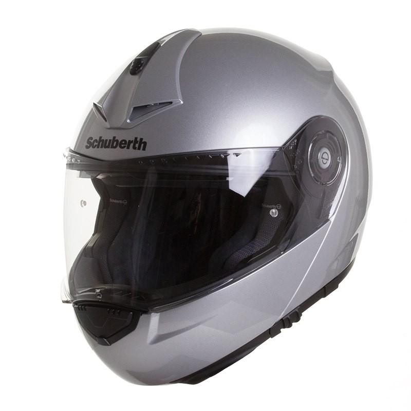 casque vintage moto modulable c3 pro brillant schuberth. Black Bedroom Furniture Sets. Home Design Ideas