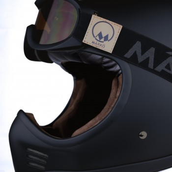 CASQUE CROSS VIKINGAR MX - MÂRKÖ ( Noir Matt)