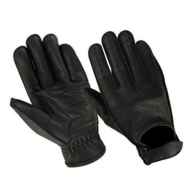 Andrea Biker's Gloves - Black